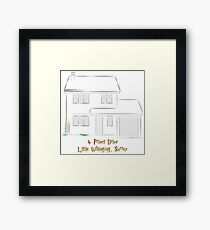 Dursley Residence Framed Print