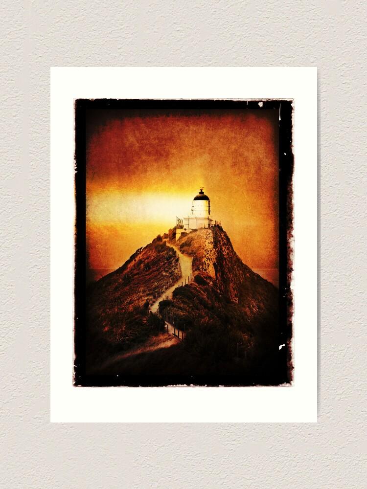 Alternate view of Keeper Of The Light Art Print