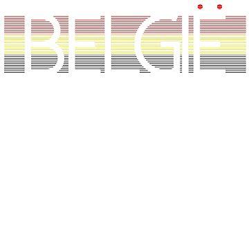 Belgian Flag Design 4 by BOBSMITHHHHH