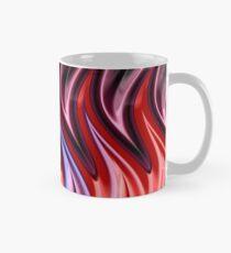 Abstract Flames Mug