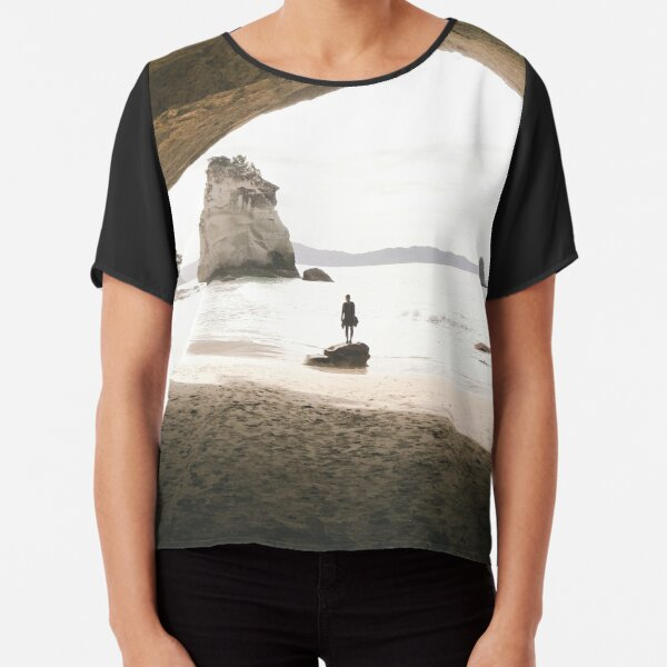 Cathedral Cove Chiffon Top
