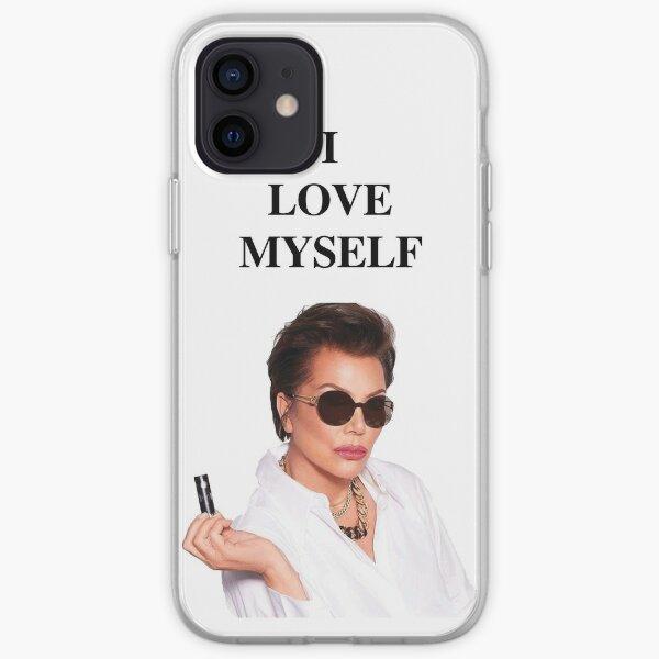 kris jenner I love myself iPhone Soft Case