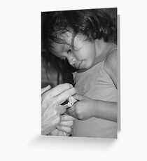 Learning to See Greeting Card