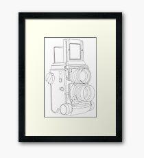 TLR Camera Framed Print