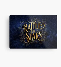 Rattle the Stars - Nacht Metallbild