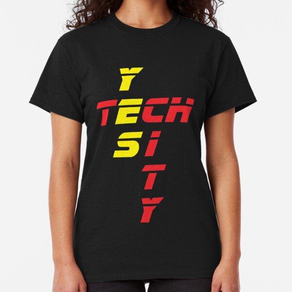 Tech YES City - Retro Design Classic T-Shirt