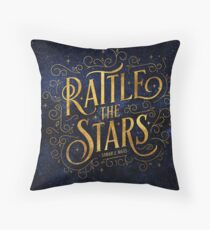 Rattle the Stars - Night Throw Pillow