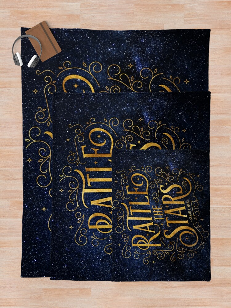 Alternate view of Rattle the Stars - Night Throw Blanket