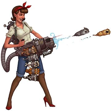 Cat Lady Cannon by GD-Designs