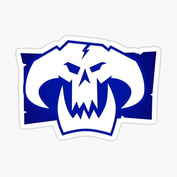 Orc Dread Skullz Sticker