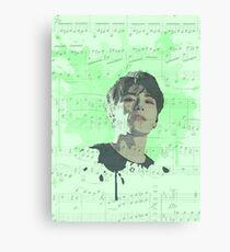 Sanggyun, Kim Sanggyun, JBJ, Just Be Joyful Canvas Print