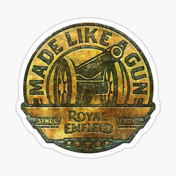 Royal Enfield Motorcycles Logo Sticker