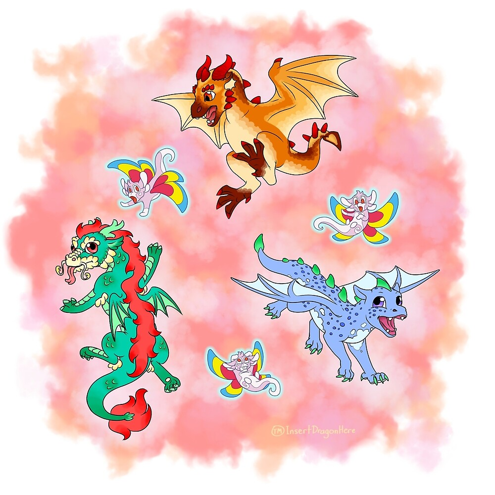 Dragons by IDH-merch