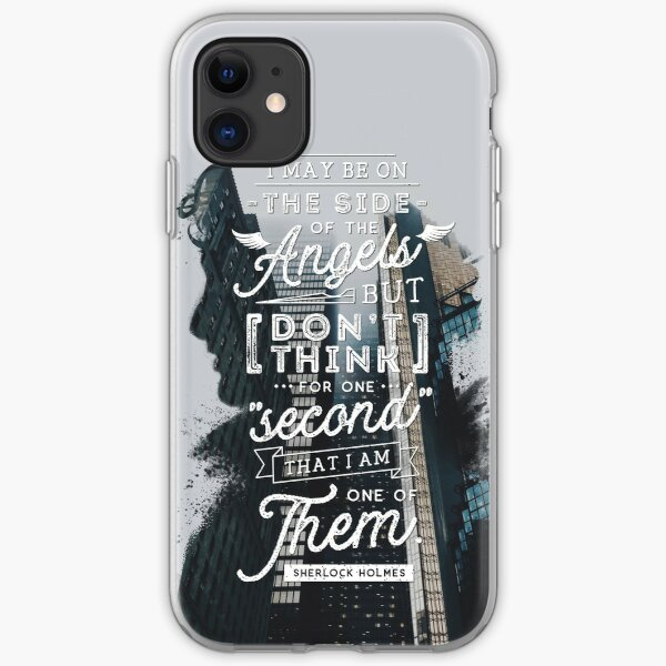 Sherlock - Angels iPhone Soft Case
