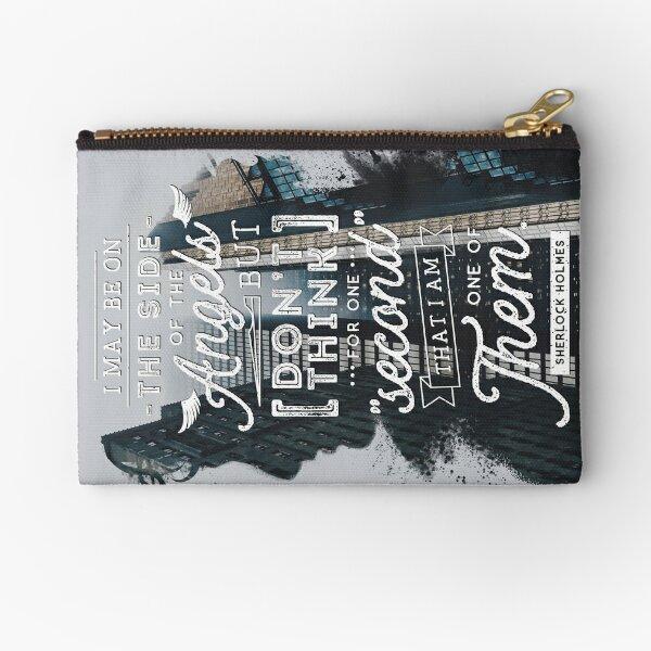 Sherlock - Angels Zipper Pouch
