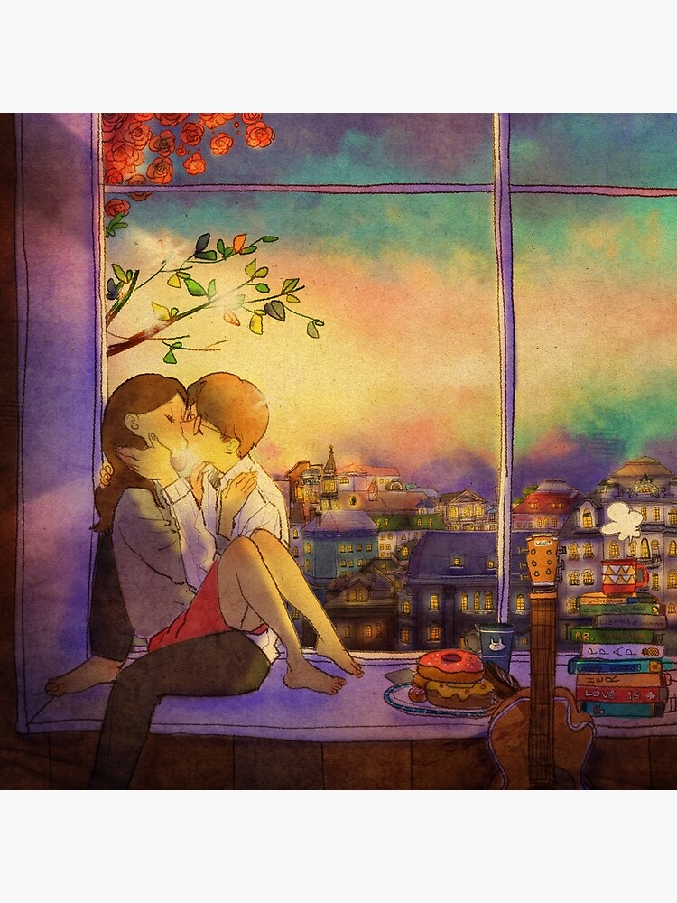 Romantic kiss by puuung1