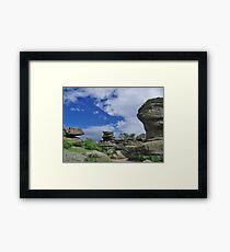 Brimham Rocks 6 Framed Print