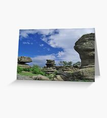 Brimham Rocks 6 Greeting Card