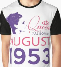 It's My Birthday 65. Made In August 1953. 1953 Gift Ideas. Graphic T-Shirt