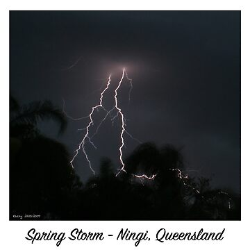 Spring Storm - Ningi, Queensland by kaety