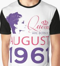 It's My Birthday 57. Made In August 1961. 1961 Gift Ideas. Graphic T-Shirt
