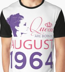 It's My Birthday 54. Made In August 1964. 1964 Gift Ideas. Graphic T-Shirt