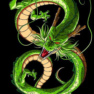 Shenron The Fierce Dragon: DBZ | Low Cost Anime Merchandise [Black Version] by Qrio