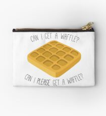 can i get a waffle? Studio Pouch