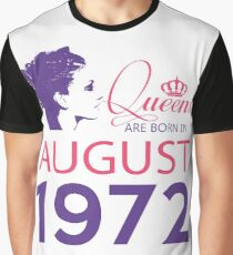 It's My Birthday 46. Made In August 1972. 1972 Gift Ideas. Graphic T-Shirt