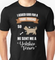 Yorkshire Terrier Puppy Dog Owner Gifts Unisex T-Shirt