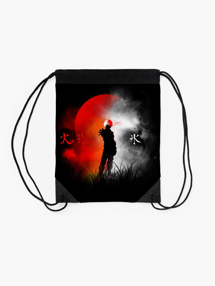 Alternate view of Ice and Fire Drawstring Bag