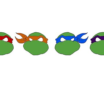 TMNT graphic heads by pthulin
