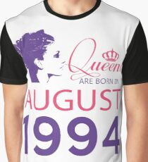 It's My Birthday 24. Made In August 1994. 1994 Gift Ideas. Graphic T-Shirt