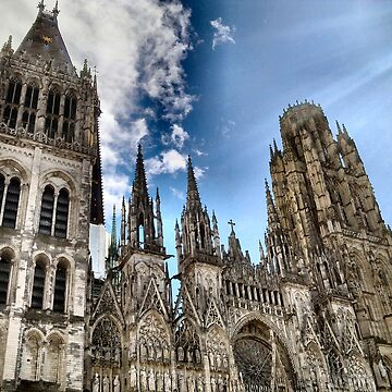 ROUEN CATHEDRAL by Shoshonan