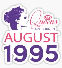 It's My Birthday 23. Made In August 1995. 1995 Gift Ideas. Sticker