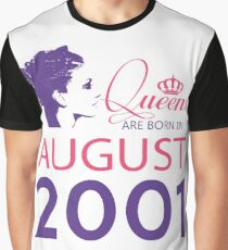 It's My Birthday 17. Made In August 2001. 2001 Gift Ideas. Graphic T-Shirt