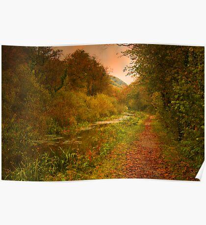 Autumnal Elegance Poster