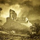Cappagh Castle, County limerick, Ireland 1400s by Dennis Melling