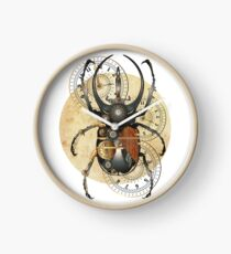 Scarab beetle, steam punk style, Bug Clock