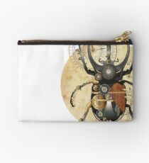Scarab beetle, steam punk style, Bug Studio Pouch