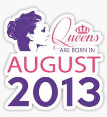 It's My Birthday 5. Made In August 2013. 2013 Gift Ideas. Sticker