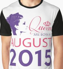 It's My Birthday 3. Made In August 2015. 2015 Gift Ideas. Graphic T-Shirt