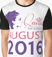 It's My Birthday 2. Made In August 2016. 2016 Gift Ideas. Graphic T-Shirt