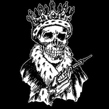 King Skeleton by PunkRockMetal