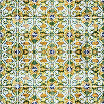 Seamless Floral Pattern Ornamental Design :   x28 by ohaniki