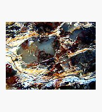 Ice Caverns of Narnia Photographic Print