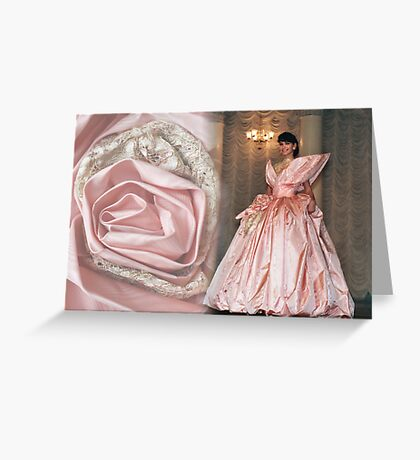 """The dress """"Rose of Sharon"""" Greeting Card"""