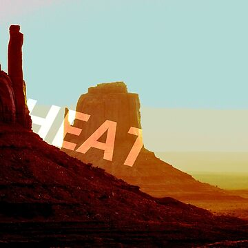 Post-apocalyptic Heat Desert by EliaCoan