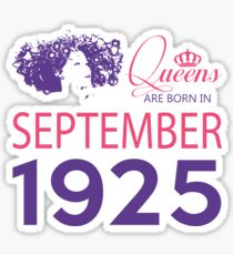 It's My Birthday 93. Made In September 1925. 1925 Gift Ideas. Sticker