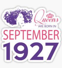 It's My Birthday 91. Made In September 1927. 1927 Gift Ideas. Sticker